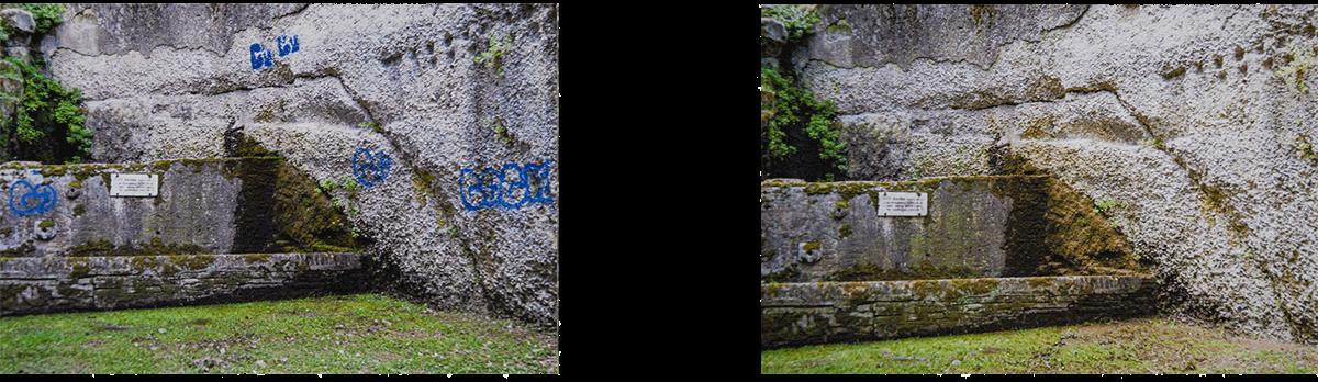 rimozione-graffiti-pietra